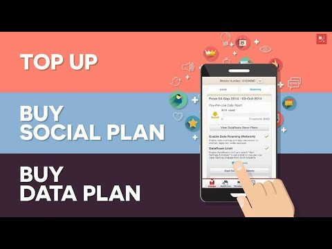 How to Top-up Prepaid Account with MySingTel App