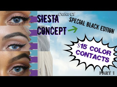 Siesta Concept: Special Black Edition| Part 1