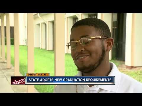 Graduating high school in Florida will soon be harder