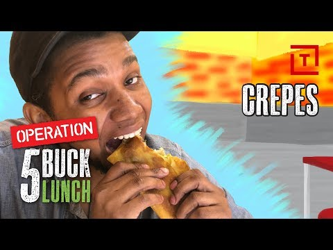 The Best Cheap Crepe in New York City || Operation $5 Lunch
