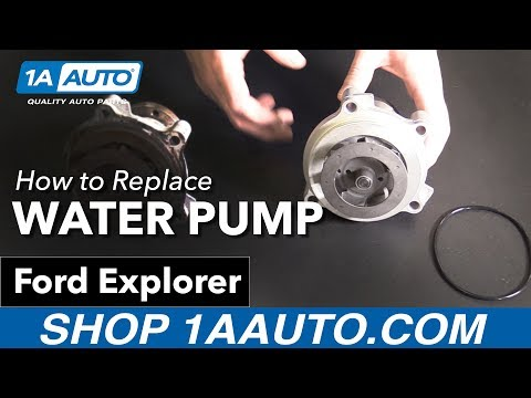 How to Replace Install Water Pump 2002-10 Ford Explorer Buy Quality Auto Parts at 1AAuto.com
