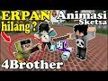 Erpan Hilang Di 4Brother ? 3Brother Panik - Animasi Minecraft Indonesia