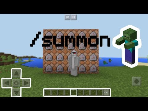 Fun things to do with /summon in mcpe 1.1