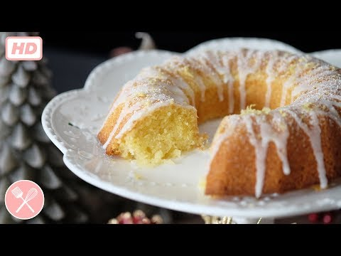 How to make Lemon Drizzle Cake (video)