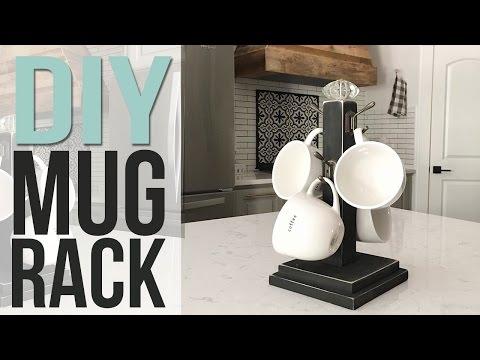DIY Coffee Mug Holder   HOLIDAY GIFT IDEA