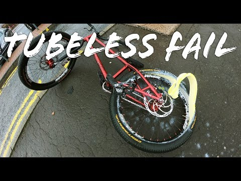 Tubeless Failed Today! - Vlog 76