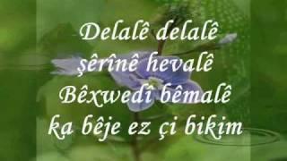 Şivan Perwer  delalê lyrics