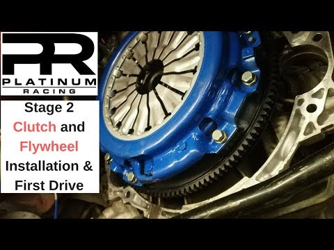 Stage 2 Clutch and Flywheel Install 350z | Platinum Racing