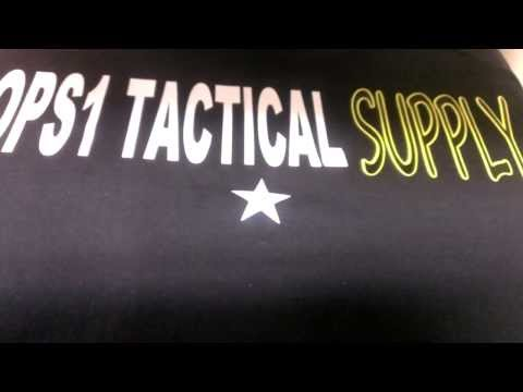 OPS1 Tactical Supply - Reflective Lettering Screen Printing Heat Press | Dutchess County, NY