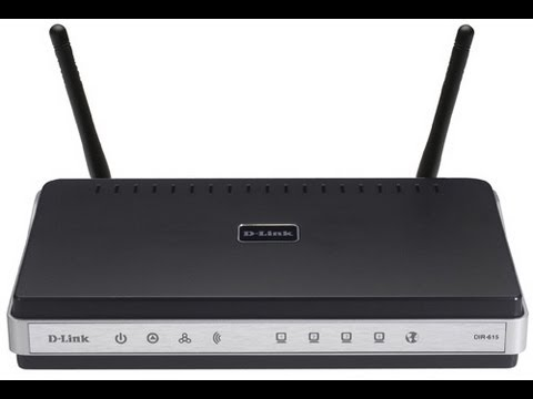how to change  the channel on a D-Link wireless router