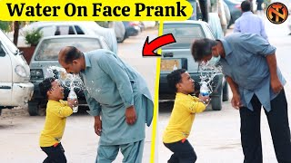 Water On Face Prank - Funny Public Prank | New Talent