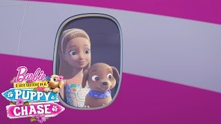 Barbie™ & Her Sisters in a Puppy Chase Exclusive Sneak Peek with Hunter & Scout | Barbie