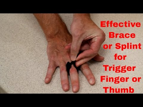Trigger Finger or Thumb? Try this effective Brace/Splint by BraceAbility