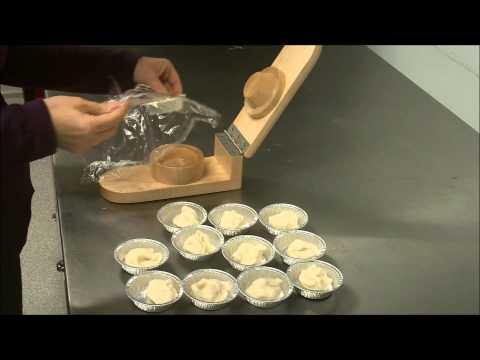 How to Make Tart Shells with Tart Press from Birds Hill Enterprises