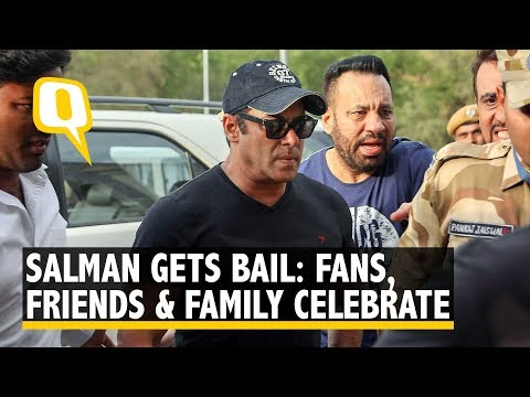 Sallu Bhai gets bail: Friends, Family and Fans can't keep calm | The Quint