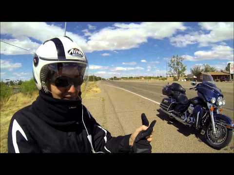 Road Trip in USA en Harley Davidson - Route 66 (Mai 2014)