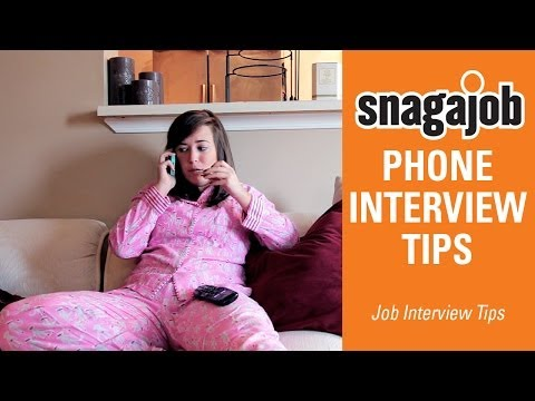 Job interview tips (Part 2): Phone interviews tips