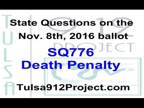 Discussion on Oklahoma State Question 776