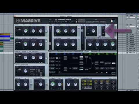 Make Fat Synths in MASSIVE with the Bypass mod