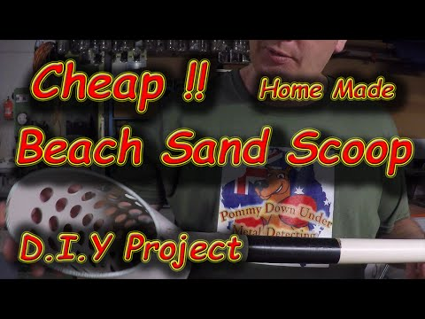 #36 How to make a Sand Scoop for $0, DIY Project
