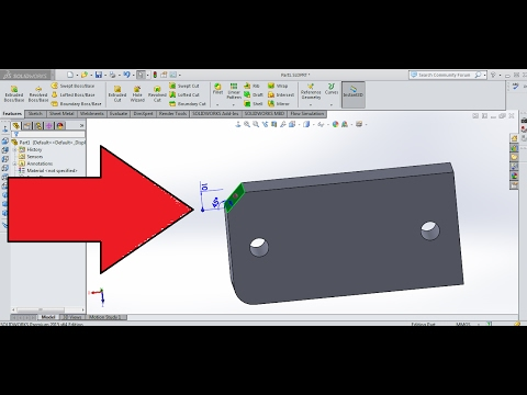 8 Solidworks Measure Command