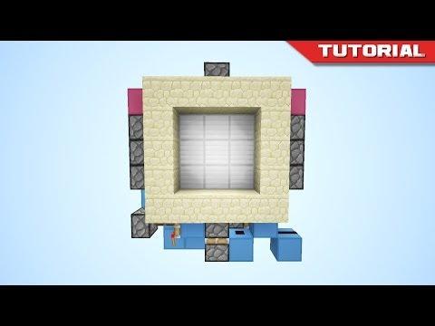 The Tiny 3x3 Piston Door [Redstone Tutorial]