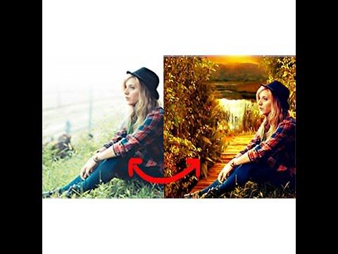 How to change background|Photo manipulation| Photoshop hindi tutorial
