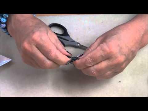 Tying off Elastic Cord