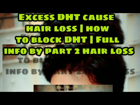 Excess DHT ||cause  hair loss || how to block DHT || Full info by SUVO TV ||in Hindi and Bengali