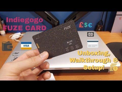 Review: Fuze Card Unboxing, Walkthrough & Setup (Indiegogo)