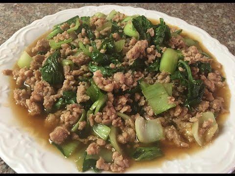 Easy Asian Stir Fried Chicken with Bok Choy Recipe