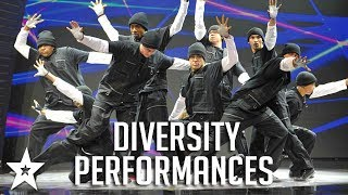 ALL FULL Diversity Performances on Britain