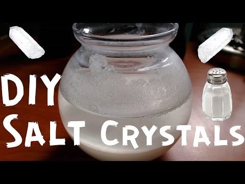 DIY Salt Crystals Tutorial #18