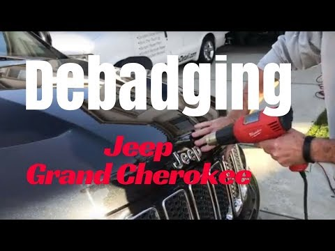 Debadging: Jeep grand Cherokee
