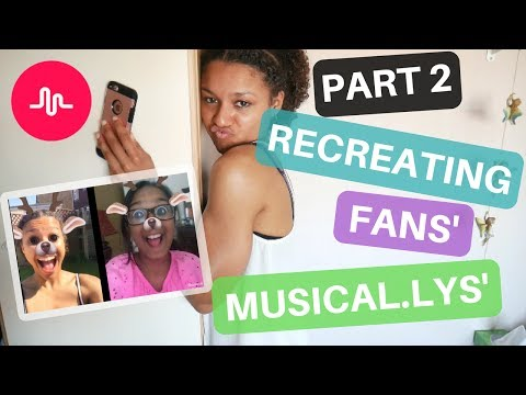 Recreating YOUR Musical.lys PART 2!!