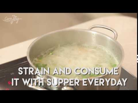 Cabbage juice to cure stomach heat and weight loss