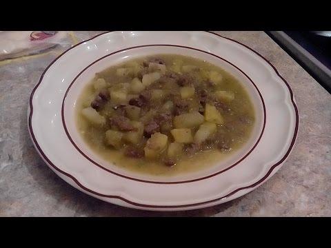 -Bistec con papas en salsa verde | receta fácil |