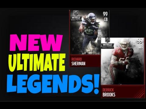 Madden Mobile: 99 Ultimate Legend Brooks & Sherman!