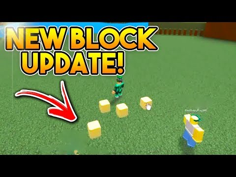 *NEW* TELEPORTING BLOCK (UPDATE)   Build A Boat For Treasure ROBLOX