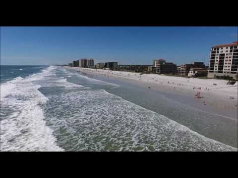 Jacksonville Beach FL.... DJI Phantom 4 Drone footage