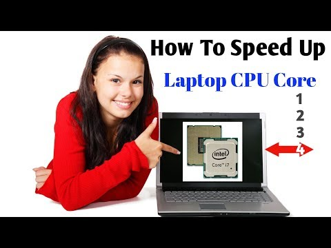 How to increase Laptop speed || Speed up Computer CPU