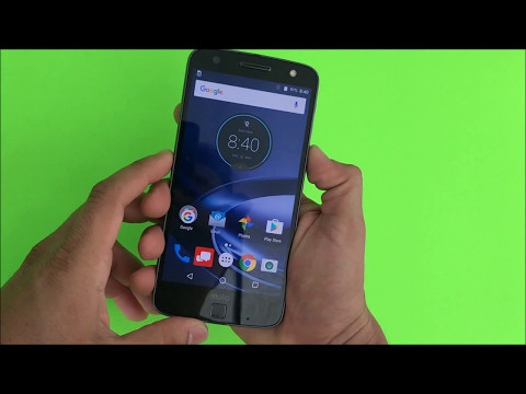 How to get Motorola Moto Z IN & OUT of safe mode