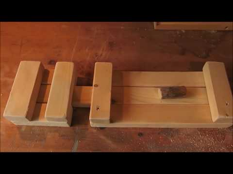 How to make a Rustic Wooden Barn Latch