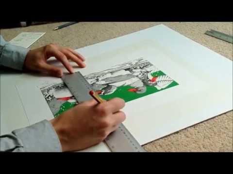 Precision Mount Card Cutting by J&K Gallery, Crowborough