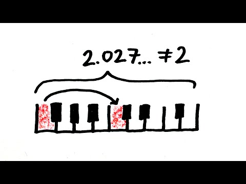 Why It's Impossible to Tune a Piano