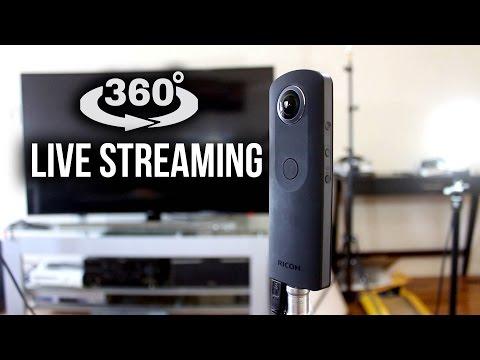 YouTube 360° live streaming Tutorial (Ricoh Theta S)