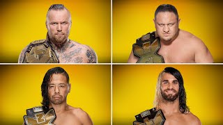 Meet every Superstar who has won the NXT Championship