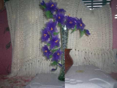 Silk flowers last forever