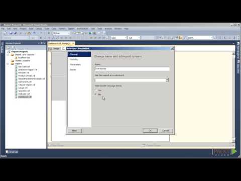 Creating Reports with SQL Server 2012 Reporting Services: Creating a Dashboard