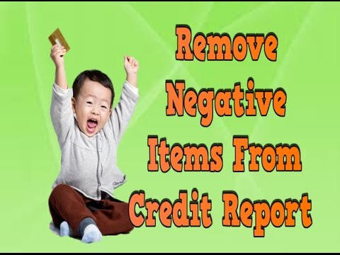 Remove Negative Items From Credit Report, How Credit Score Is Calculated, Get My Credit Score Free
